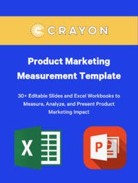 Product Marketing Measurement Template