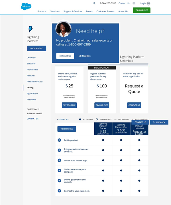 SalesforcePricingPage