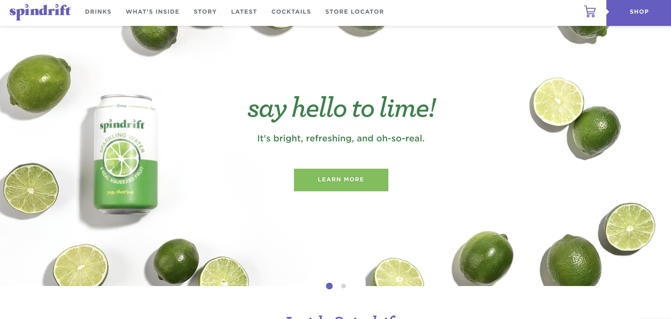 Spindrift Brand Messaging