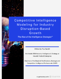 Competitive Intelligence Modeling Cover