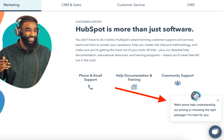 best-saas-pricing-pages-hubspot-2