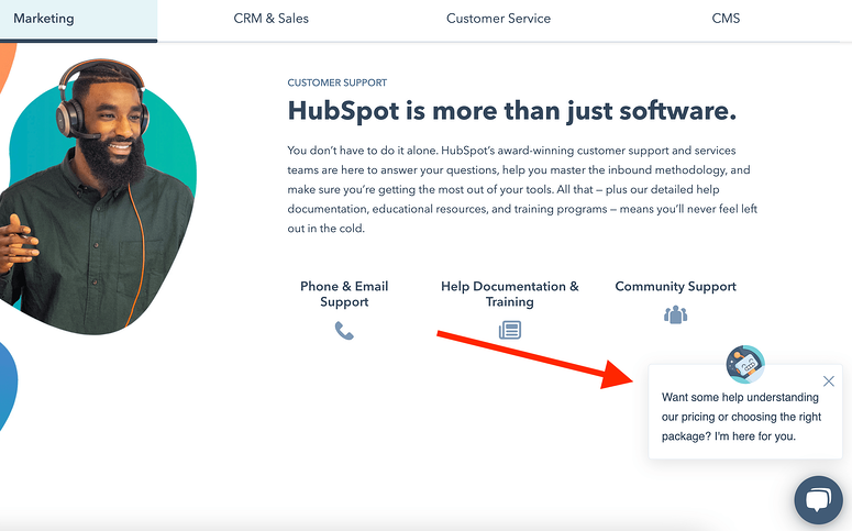 best-saas-pricing-pages-hubspot