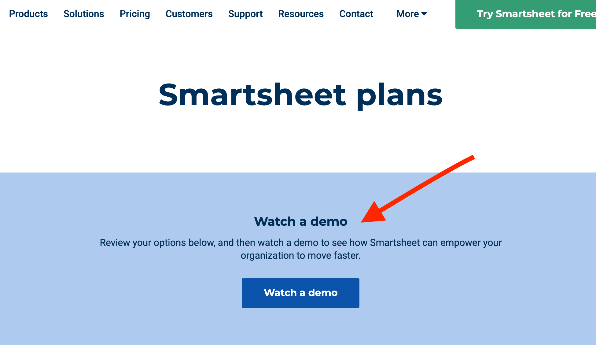 best-saas-pricing-pages-smartsheet