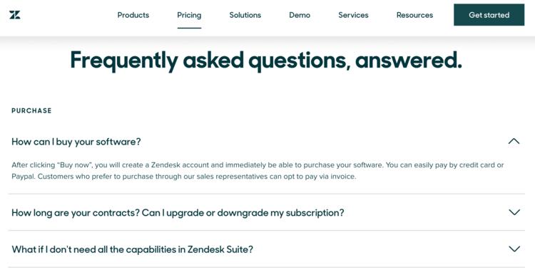 best-saas-pricing-pages-zendesk-2