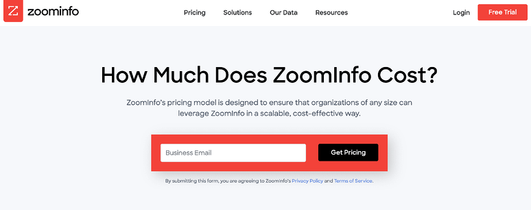 best-saas-pricing-pages-zoominfo
