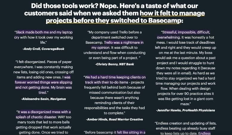 competitive-comparison-landing-page-example-basecamp