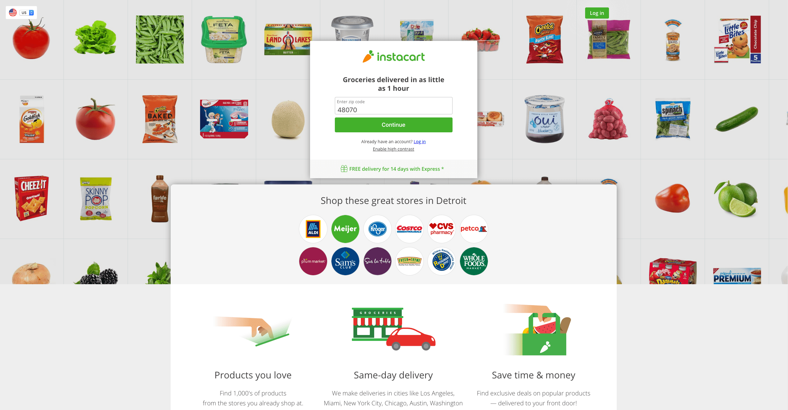 competitive-web-design-instacart