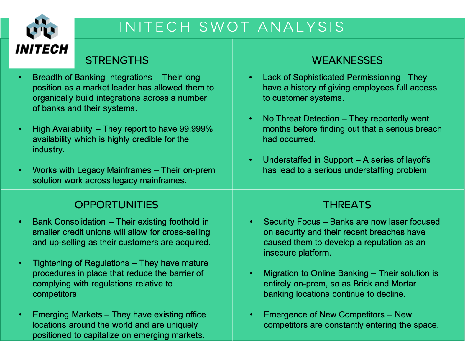 Team One Credit Union >> What is a SWOT Analysis? Let's Start with the Basics