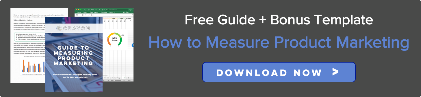 Download the Guide to Measuring Product Marketing