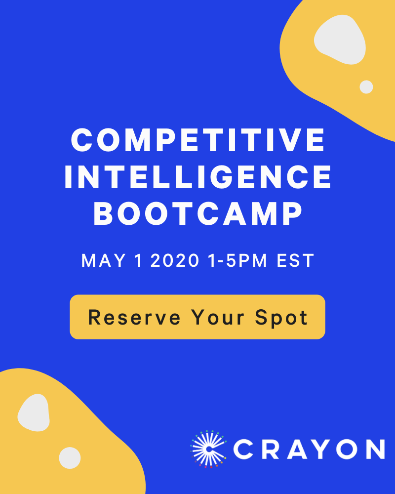 Competitive Intelligence Bootcamp [Replay]