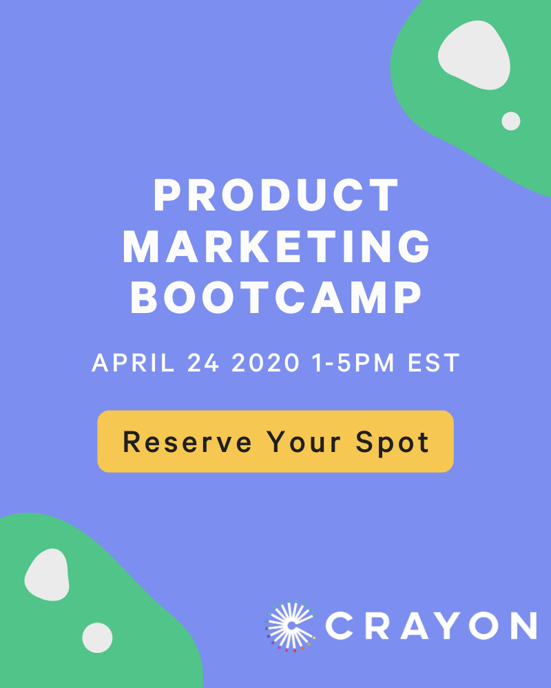 Product Marketing Bootcamp
