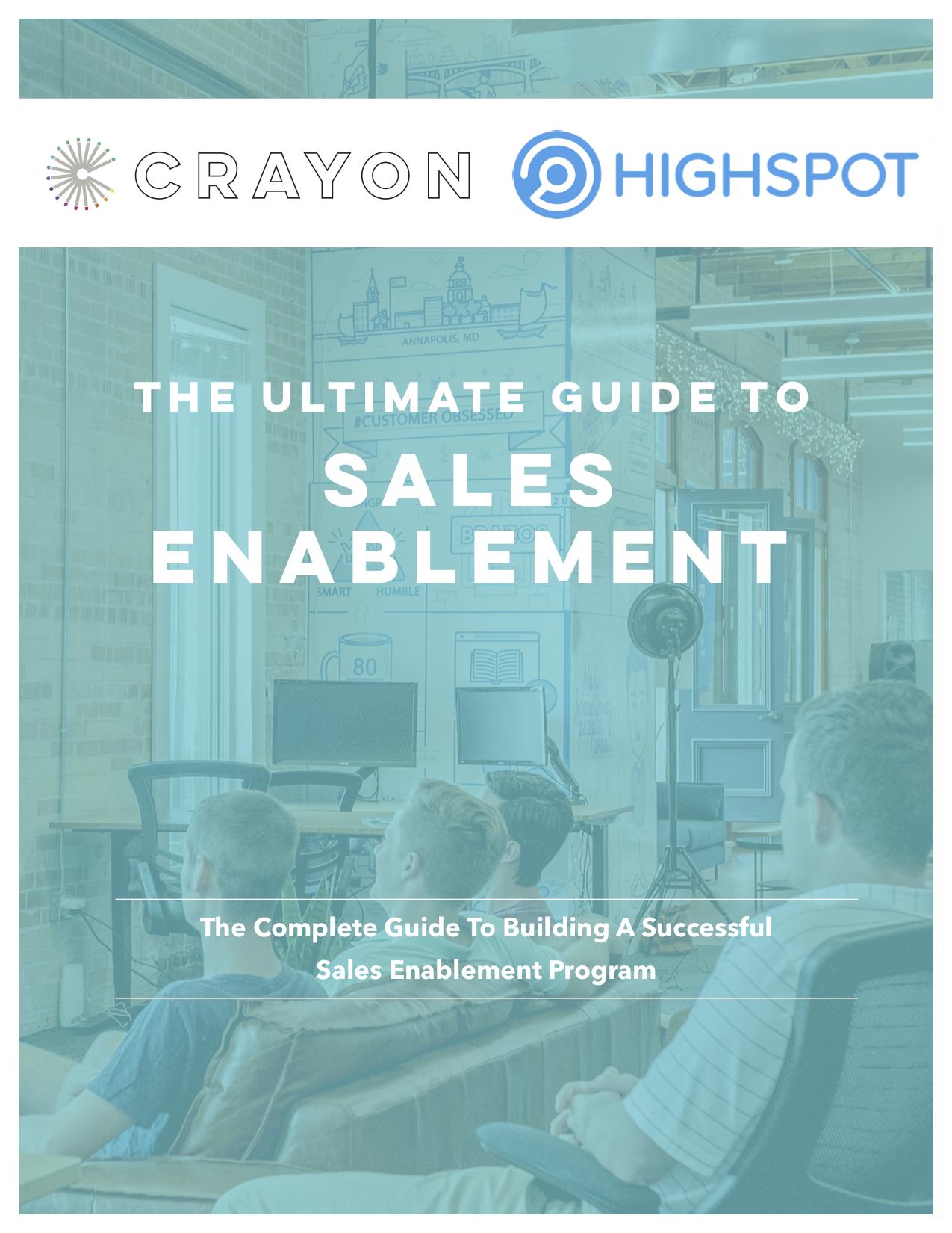 Sales Enablement ebookfinalED