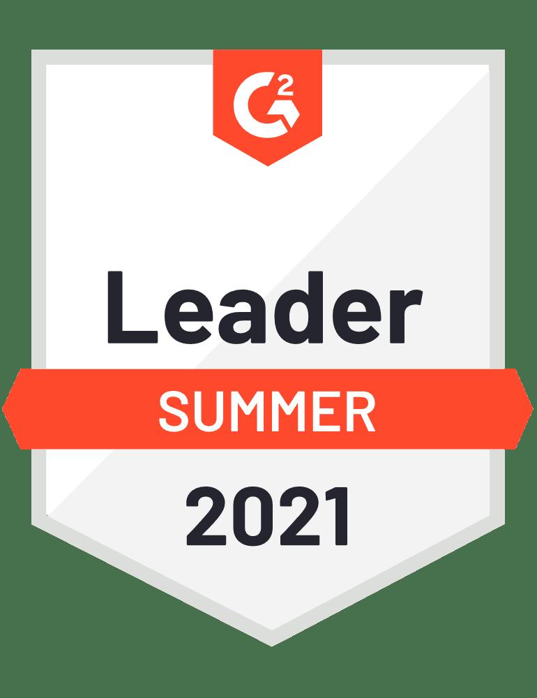 G2 Leader Summer 2021