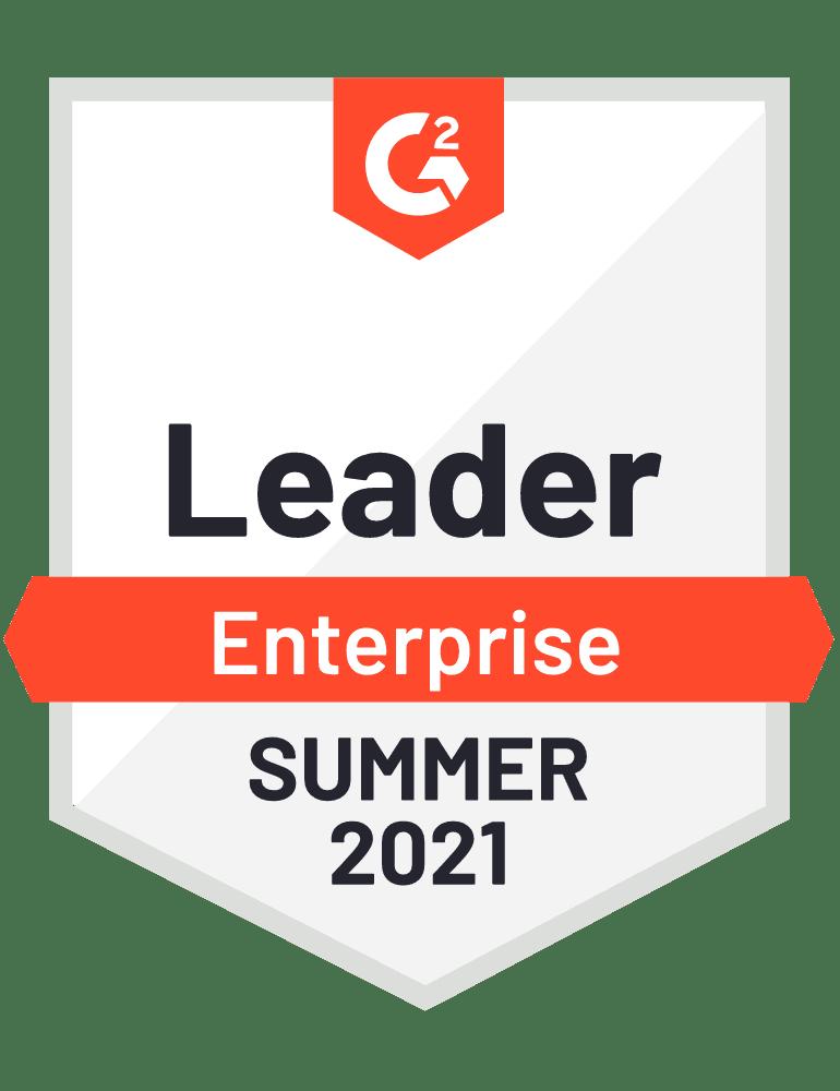G2 Enterprise Leader Summer 2021